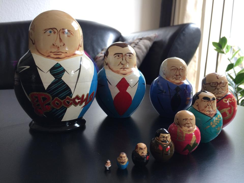 Matrusjka med præsidenter