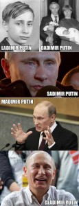 Putins mange ansigter